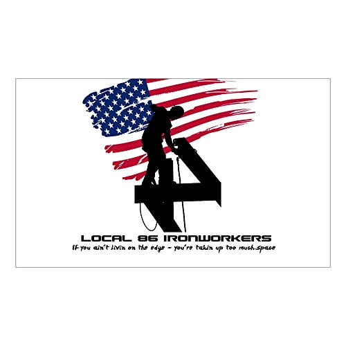 CNW Studio Ironworker Decal Vinyl Bumper Sticker 5