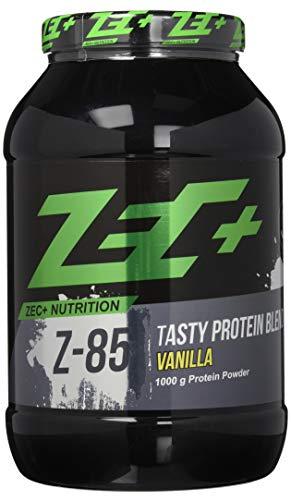 ZEC+ Mehrkomponenten Proteinpulver Z-85 – 1000 g Protein-Shake für ideale Proteinversorgung, mit Whey Protein, Casein, Ei Protein & Aminosäuren, Geschmack Vanille