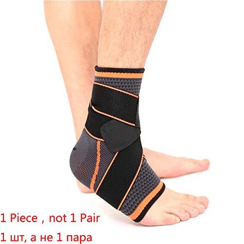 Enkelband Sport Enkel Brace Compressie Band Mouwen Ondersteuning 3D Weave Elastische Bandage Voet Beschermende Gear Fitness