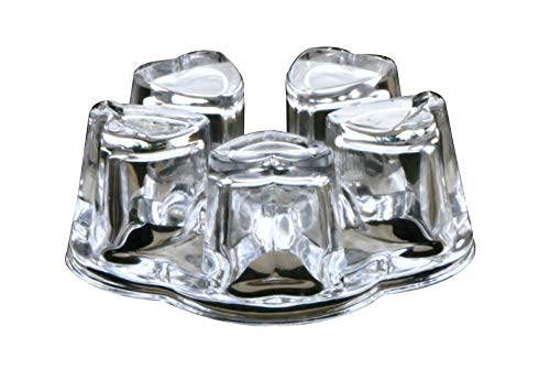 Sun's Tea Solid Crystal Glass Teapot Warmer