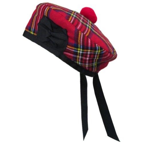 Tartanista - Balmoral pour homme - tartan - Royal Stewart - 58 cm