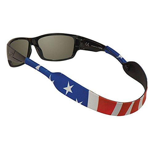 Chums Klassischer Neopren-Brillenhalter, amerikanische Flagge