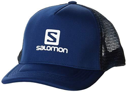 SALOMON Summer Logo Cap Gorra, Hombre, Poseidon/ao, Talla Única
