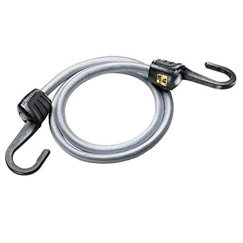 Master Lock 3035EURDAT Tendeur avec Crochets [100 cm d'Elastique] [Crochet en Acier] - Idéal pour le Transport de Charges, l'Emballage, le Camping