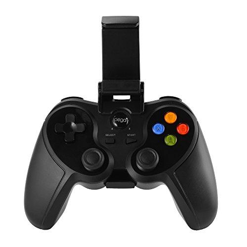 iPega PG-9078 Bluetooth Gamepad controlador de juego inalambrico con soporte de telefono ajustable para Android iOS Smartphone Windows PC TV TV Box Tablet