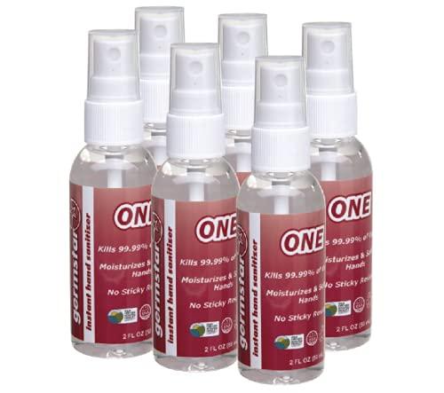 Germstar ONE 2oz Hand Sanitizer Spray Bottles (6/case)