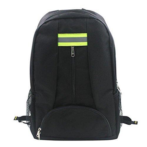 Dough.Q Werkzeugrucksack Tragbarer Innenteiler Ergonomischer Rücken Fronttasche Rucksack Backpack...