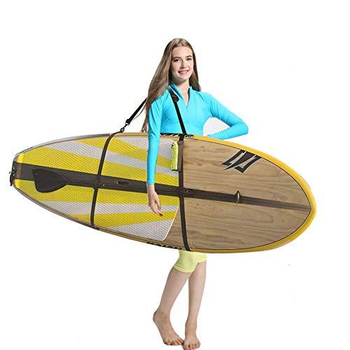 Ultrafun Paddle Board Strap Portable Adjustable Surfboard SUP Kayaks Canoe Shoulder Sling Carrier Strap (Black)