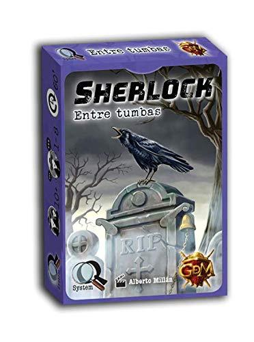 GM Games- Sherlock: Entre tumbas Juego investigación