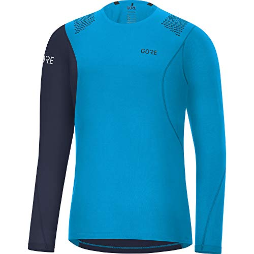 GORE WEAR Men's Breathable Long Sleeve Running Shirt