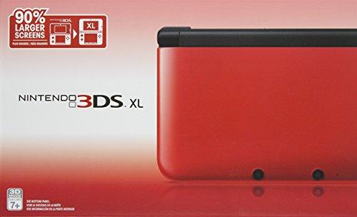 Nintendo 3DS XL - Red/Black (Renewed)