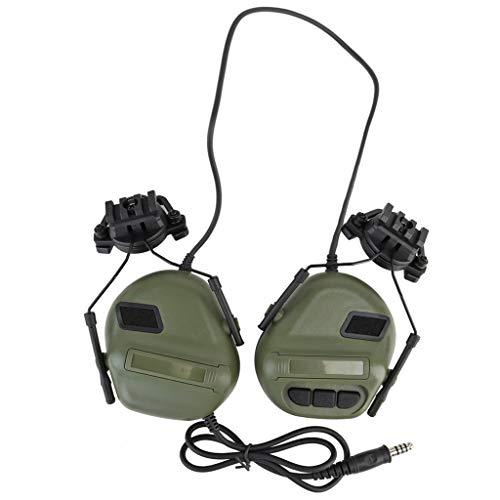 YUYAN Jagd Outdoor Schießsport Headset Militär Helm Airsoft Paintball Headset CS Wargame Kopfhörer