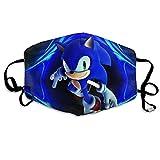 Mundschutz Sonics-Game Hedgehog Gesichtsschutz Gesichtsschutz Mundschutz Gesichtsschutz Stirnband Schal Bandanas Kinder Männer im Freien