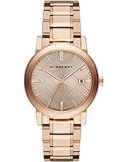 ساعة بيربري للنساء موديل BU9034 - رسمية، أنالوج