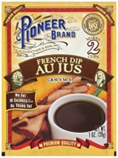 Pioneer Brand Gravy Mix, French Au Jus 1 Oz (Pack of 6)