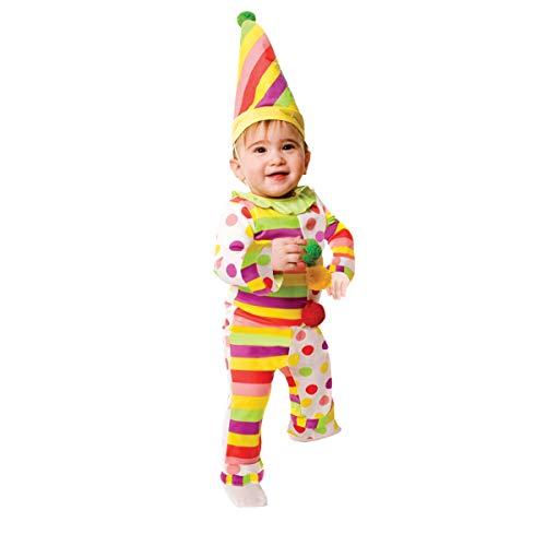 Dress Up America Disfraz de Payaso Infantilil Dulce Dots N