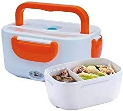 JSKB Enterprise Electric Heated Portable Food Warmer Lunch Box Electric Tiffin Box for Office and Electric Lunch Box for O...