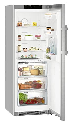 Liebherr KBef 3730 Comfort BioFresh freistehender Kühlschrank, 324 l, D, silberfarben