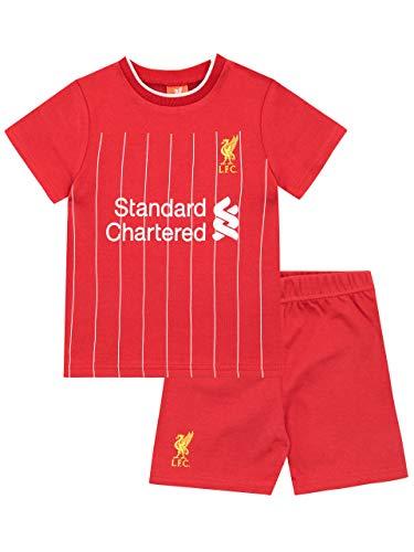 Premier League Baby Jungen Liverpool FC Zweiteilige Schlafanzüge Rot 80