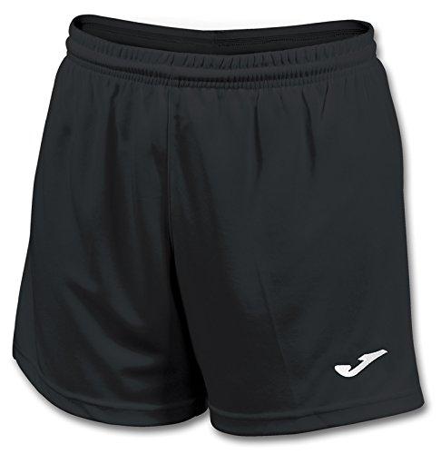 Joma Paris II Pantalones Cortos Deportivos, Mujer, Negro (100), M