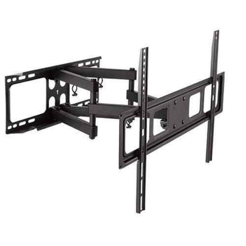 Impact Mounts Dual Arm Swivel LCD LED Full Motion TV Wall Mount for 37-70' TVs 37 42 46 47 50 55 60 65 70 (Renewed)