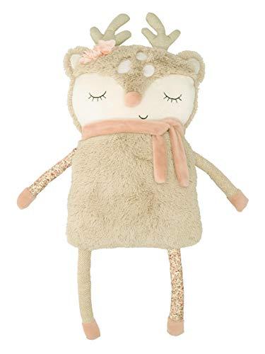 Bieco Plüsch REH Spieltier Baby | ca. 55 cm | niedliches Baby Kuscheltier | Baby Spielzeug | Kuscheltier Baby | Baby Einschlafhilfe | Kuscheltiere für Babys | Stofftier Baby | Kuscheltier Pferd