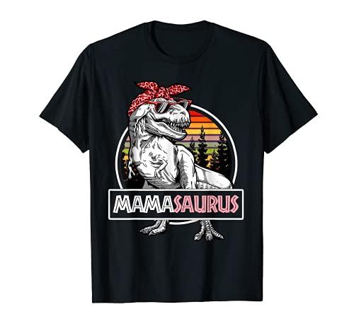 Mamasaurus T Rex Dinosaurio Mama Saurus Rex Graciosa Mujer Camiseta