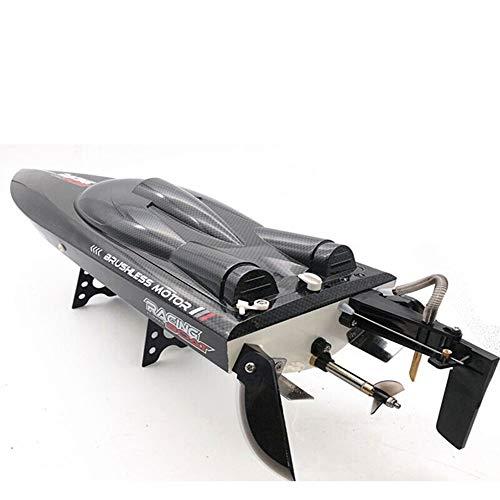 TBFEI RC2.4G Competición Barco De Control Remoto Agua De Alta Velocidad Dirigible Eléctrico Lancha Rápida Refrigerada Por Agua Submarino FT011 (Velocidad Sin Escobillas 65KM) Elementos Esenciales Al A