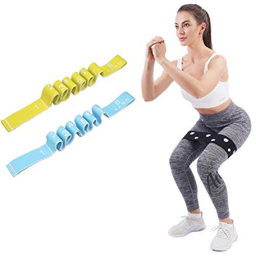 Bandas de resistencia para piernas y glúteos, bandas de entrenamiento, bandas de entrenamiento, bandas de fitness, bandas de ejercicio para sentadillas, glúteos, hip entrenamiento, resistencia de tela