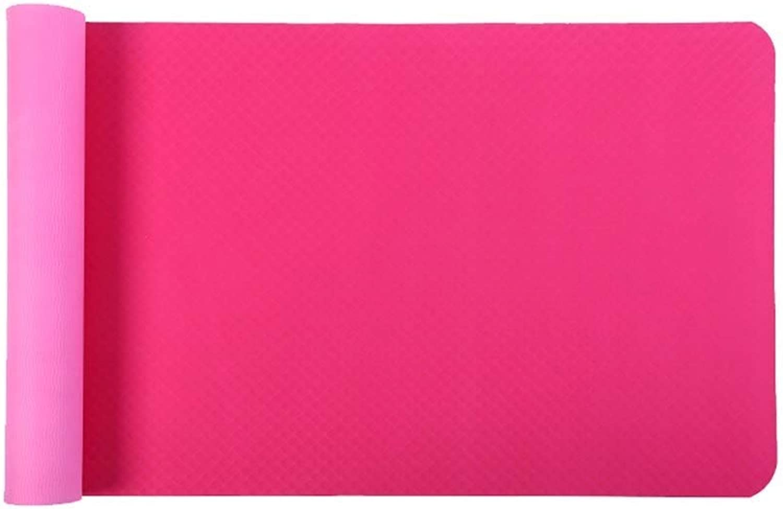 HPOUM Double-Sided Non-Slip, Environmentally Friendly, Tasteless, Thickening, Long Yoga, Fitness mat, Floor mat, (color   B)