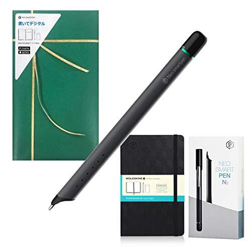 【正規品】Neo smartpen ネオスマートペンN2 チタンブラック 【ギフト用/Nモレスキンノートセット】プレゼント用包装