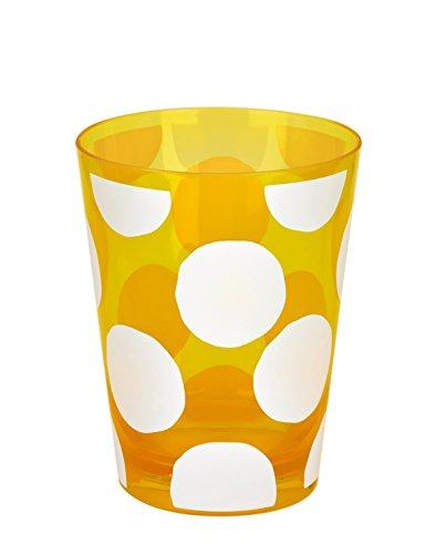 Garten Big Dots Becher, 11,5x 9,5cm, gelb, Modell # 12378
