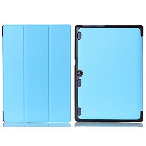 Funda con Tapa para Lenovo A10-30F TB2 X30L X30F Tablet 10.1 Funda-X30-Azul