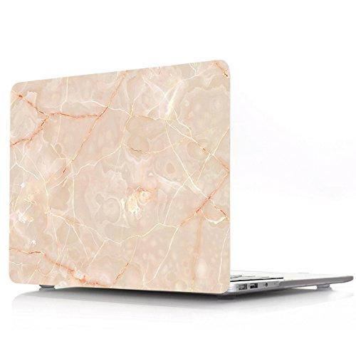 PapyHall - Funda para MacBook Pro de 13 pulgadas, carcasa rígida recubierta de goma para MacBook Pro de 13 pulgadas, pantalla Retina de 13 pulgadas, modelo A1425/A1502 (mármol champán)