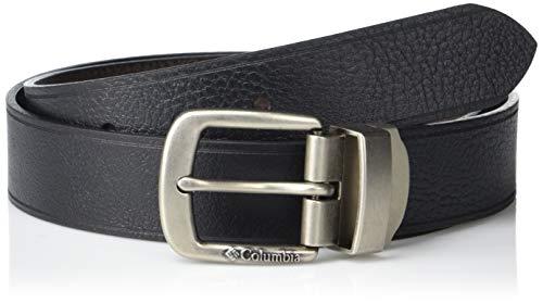 Columbia - Hombres de 1 3/8 pulgadas. Hamlock Grove - Cinturón reversible (tamaño regular y grande), color negro