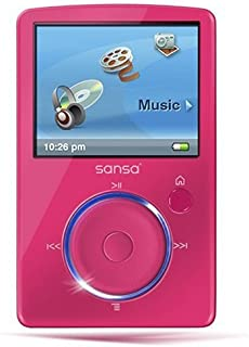 Sansa Fuze SD9456 4GB Pink MP3 w/Radio