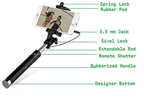 Selfie Sticks – Selfie Stick for iPhone/Samsung/Redmi/Oppo/Vivo/Xiaomi and All Mobile Phones