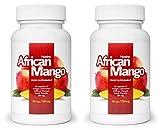 ✅AFRICAN MANGO Premium (2x) quema grasa eficaz, quemadores de grasa, supresores del apetito, adelgazar rápido, saludable y desintoxicante (120 Cápsulas)