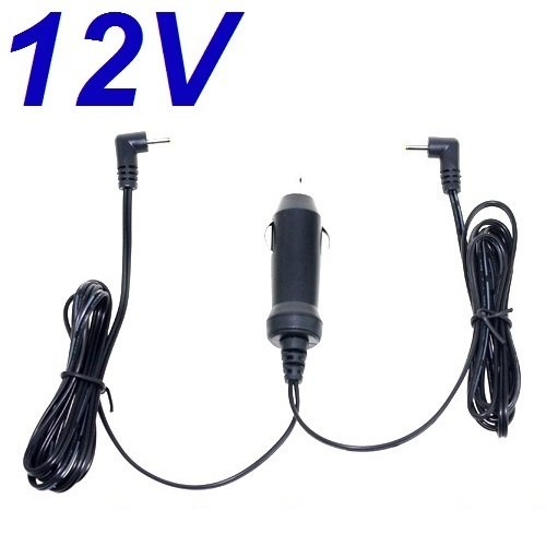 CARGADOR ESP ® Autolader Auto Lichter 12V Vervanging voor DVD Speler Akai ACVDS736 met 2 uitgangen Plaatsvervanger Replacement