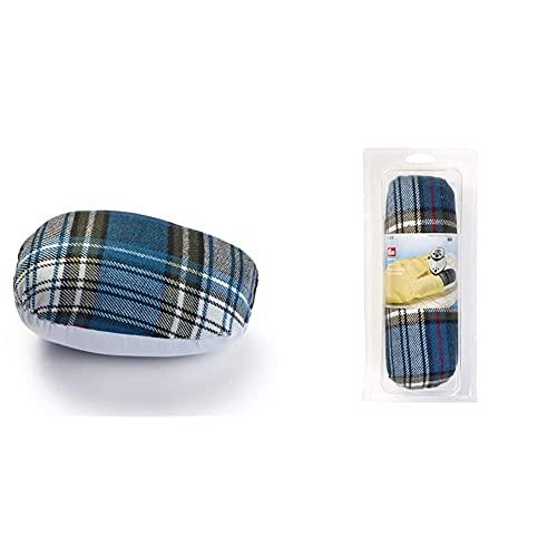 Prym Jamón para planchar, costuras curvas, mezcla de poliéster, multicolor, 20 x 14 x 10 cm + –Rollo de costura para ironing-out ya harder-to-reach costuras, mezcla de poliéster, multicolor