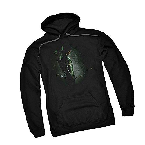 in The Shadows - CW's Arrow TV Show Adult Hoodie Sweatshirt, Large Black