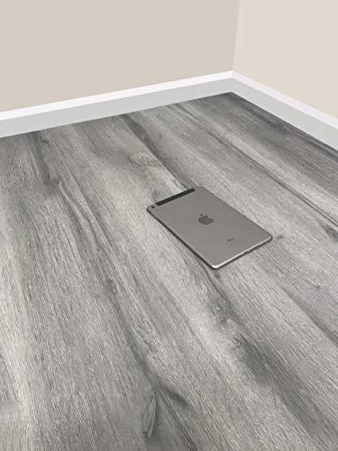 Grandismo® Luxury Grey Wood Laminate Flooring - Sold Per...