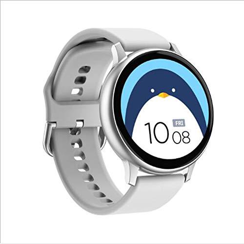 Reloj Inteligente,para Las Mujeres Todas-día Pulsómetros Dormir Monitor Podómetro Ip68 Impermeable Recordatorio Femenino Pulsera De Actividad Cámara Reloj Inteligente Plata 1.3inch