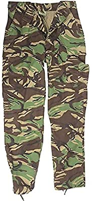 Miltec British DPM Camouflage BDU Trousers (XX-Large)