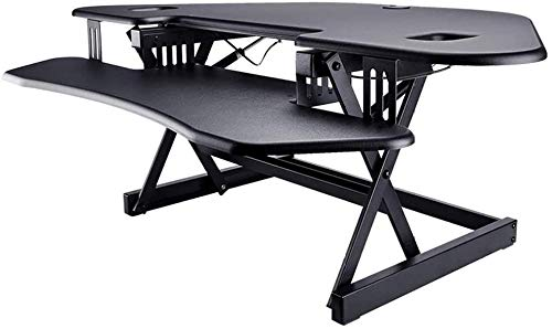 REWD Workstation Desk - Mesa de trabajo de pie automática para elevar el portátil o levantar cualquier altura