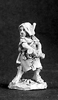 Reaper Miniatures Melantha Female Halfling #03234 Dark Heaven Unpainted Metal