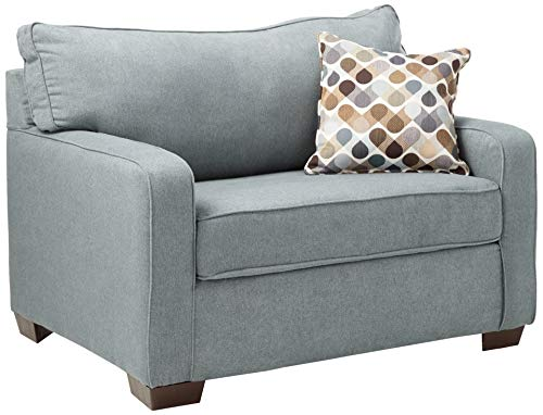 Lane Home Furnishings Mia Denim 9025-01M Sleeper Sofa, Mini
