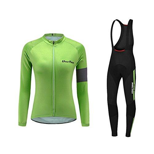 Uglyfrog 2018 Neue Radsport Anzüge Damen Long Trikots+Lange Hosen Anzüge Spring Triathlon Clothes 02
