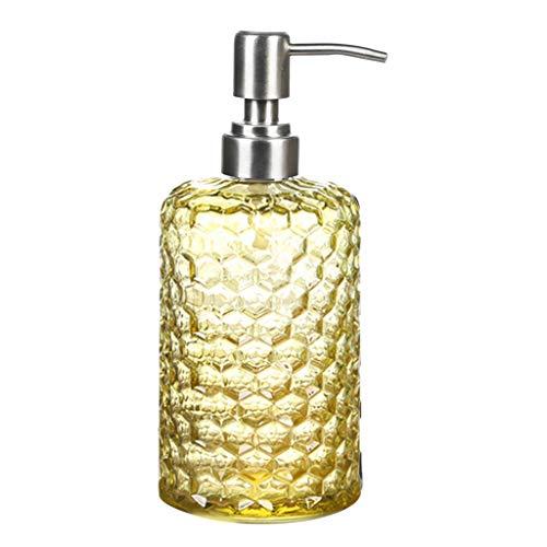 WDFVGEE Botella vacía de 500 ml de gran capacidad para champú, gel de ducha, dispensador de empuje, botella pequeña es más conveniente
