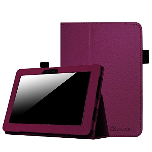 Fintie Folio Case for Kindle Fire HD 7' (2012 Old Model) - Slim Fit Leather Cover with Auto Sleep/Wake Feature (Will only fit Amazon Kindle Fire HD 7, Previous Generation - 2nd), Purple